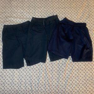 Bundle of 3 Boy's School Shorts